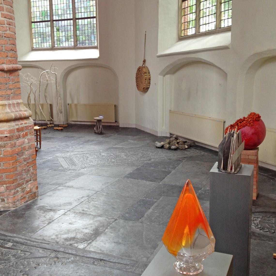 Expositie over de zaligsprekingen in de Oude st. Nicloaaskerk te IJsselstein